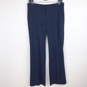 Banana Republic front seam trousers navy blue A108